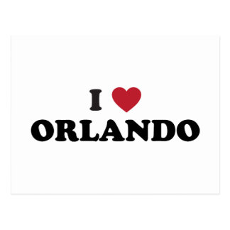 I Love Orlando Florida Post Card