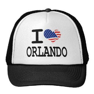 I love Orlando Hats