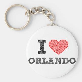 I-Love-Orlando Keychain
