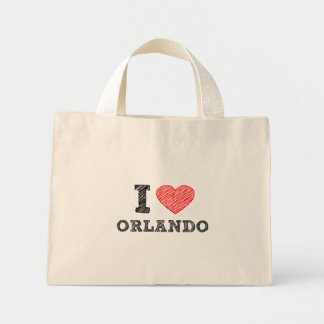 I-Love-Orlando Mini Tote Bag