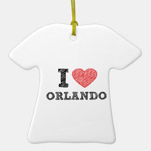 I-Love-Orlando Ornament