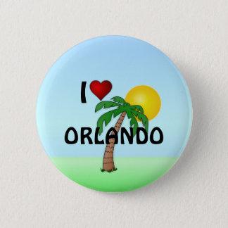 I Love Orlando Pinback Button