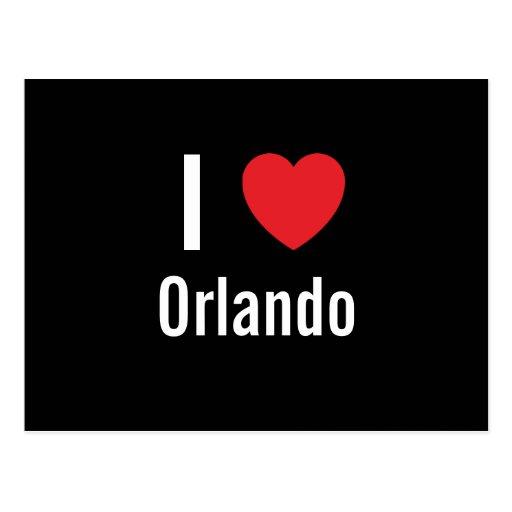 I love Orlando Postcard