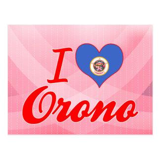 I Love Orono, Minnesota Post Cards