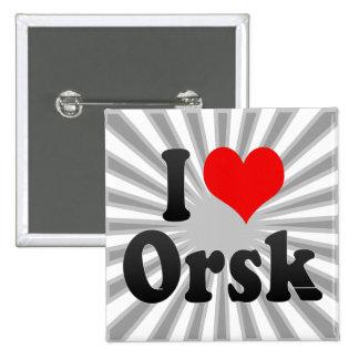 I Love Orsk, Russia. Ya Lyublyu Orsk, Russia Pins