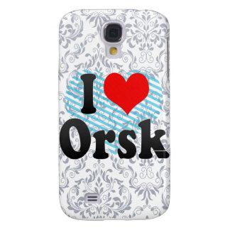 I Love Orsk, Russia. Ya Lyublyu Orsk, Russia Samsung Galaxy S4 Cover