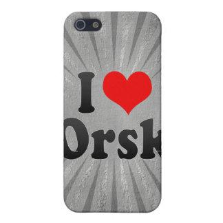 I Love Orsk, Russia. Ya Lyublyu Orsk, Russia Covers For iPhone 5