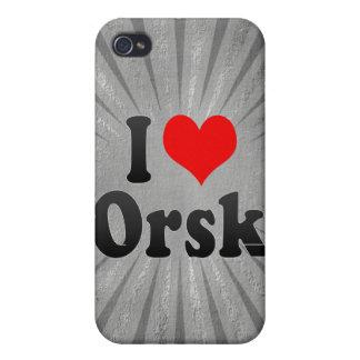 I Love Orsk, Russia. Ya Lyublyu Orsk, Russia iPhone 4 Cases