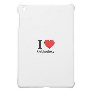 I love Orthodoxy - iPad case