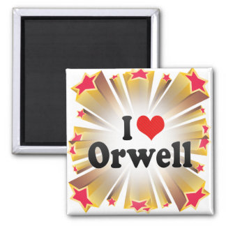 I Love Orwell Magnet
