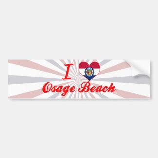 I Love Osage Beach, Missouri Bumper Stickers