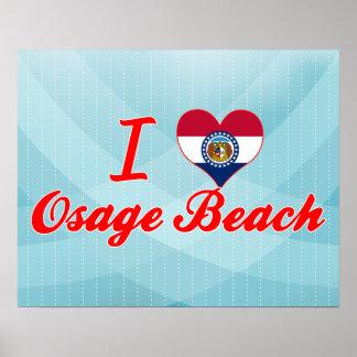 I Love Osage Beach, Missouri Posters