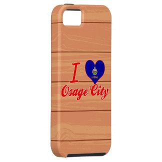 I Love Osage City, Kansas iPhone 5 Cover