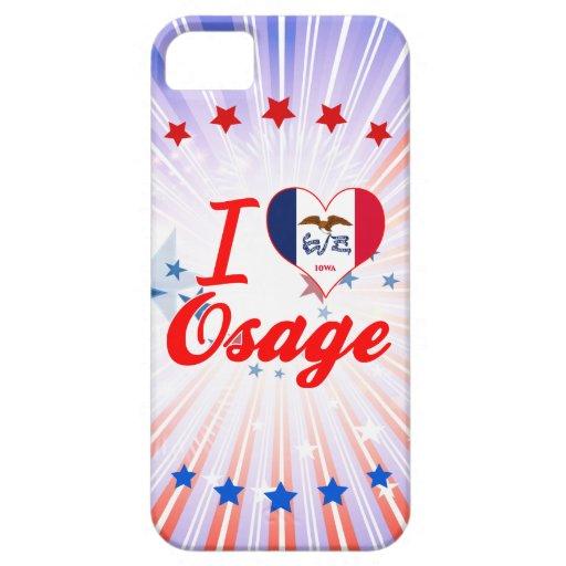 I Love Osage, Iowa iPhone 5 Cover