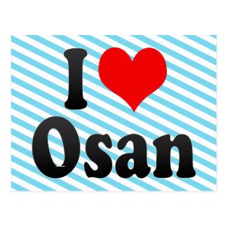 I Love Osan, Korea Postcard