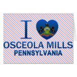 I Love Osceola Mills, PA Cards