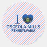 I Love Osceola Mills, PA Stickers