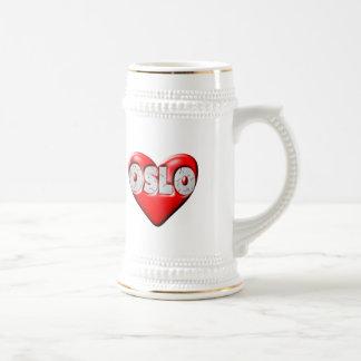 I Love Oslo Norway Mugs