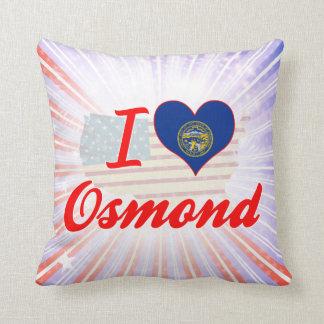 I Love Osmond, Nebraska Pillow