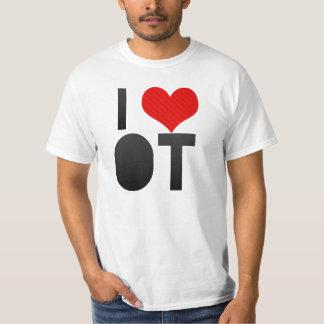 I Love OT T Shirt