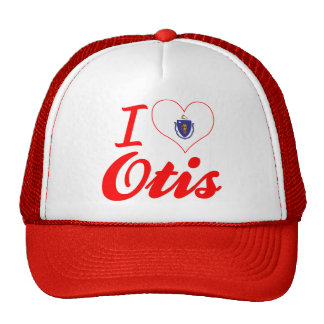 I Love Otis, Massachusetts Trucker Hat
