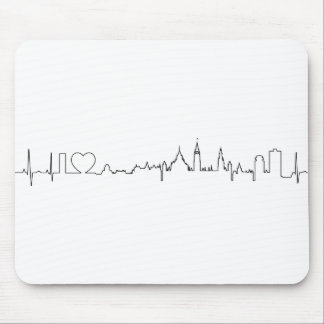 I love Ottawa in an extraordinary ecg style Mouse Pad
