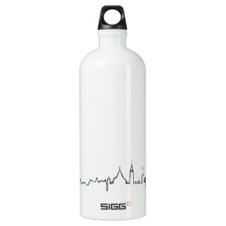 I love Ottawa in an extraordinary ecg style Water Bottle