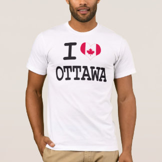 I love Ottawa T-Shirt