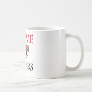 I Love Otters Classic White Coffee Mug