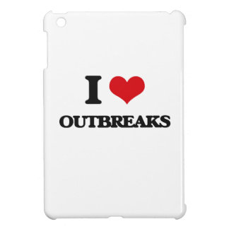 I Love Outbreaks Cover For The iPad Mini
