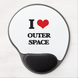 I Love Outer Space Gel Mouse Pad