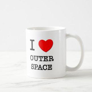 I Love Outer Space Coffee Mug