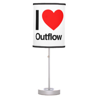 i love outflow table lamp