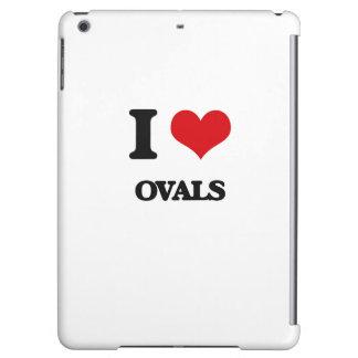 I Love Ovals iPad Air Covers