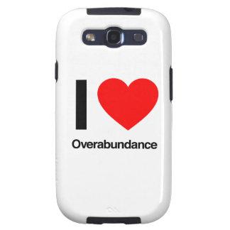 i love overabundance galaxy s3 case