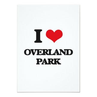 I love Overland Park Custom Invitation