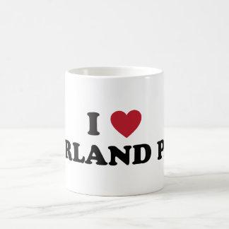 I Love Overland Park Kansas Coffee Mug