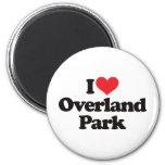 I Love Overland Park Refrigerator Magnet