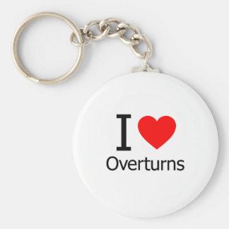 I Love Overturns Keychain