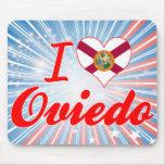 I Love Oviedo, Florida Mouse Pads