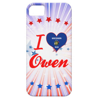I Love Owen, Wisconsin iPhone 5 Covers