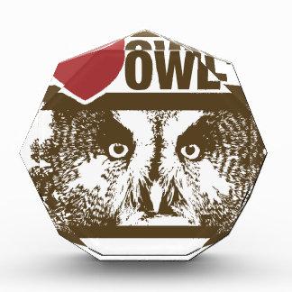 I Love Owls Award