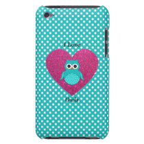 I love owls Case-Mate iPod touch case