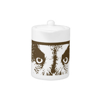 I Love Owls Teapot