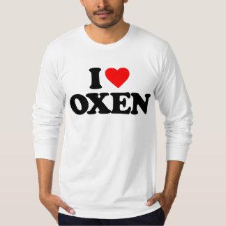 I LOVE OXEN T-Shirt