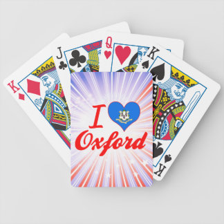 I Love Oxford, Connecticut Bicycle Poker Deck
