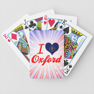 I Love Oxford, Indiana Bicycle Card Deck