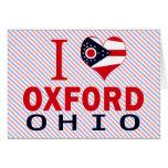I love Oxford, Ohio Card