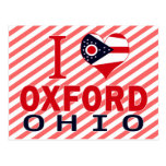 I love Oxford, Ohio Post Cards