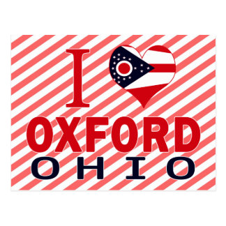 I love Oxford, Ohio Postcard
